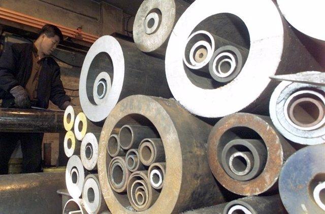Archivo - Ternium gana 715,6 millones de euros en 2020, un 37,7% más