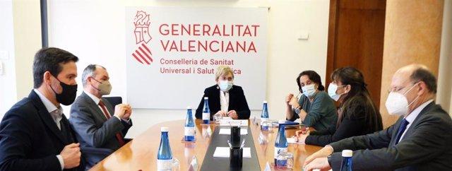 Reunión de Barceló con el sector del comercio