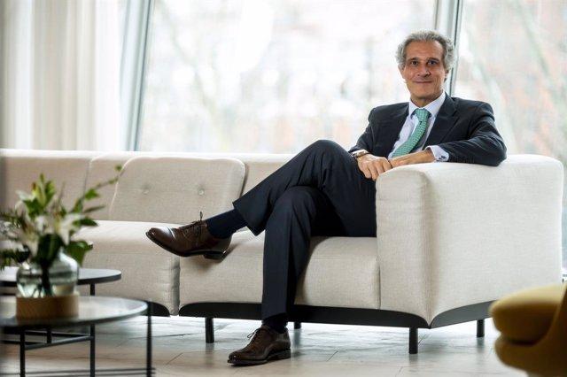 Archivo - El consejero delegado para la zona Europa, Oriente Medio y África (EMEA) de Barceló Hotel Group, Raúl González.