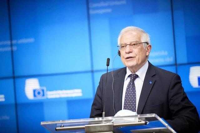 El Alto Representante de Política Exterior de la UE, Josep Borrell