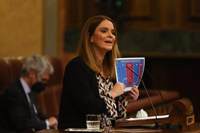 Archivo - La portavoz de Igualdad del PP en el Congreso, Margarita Prohéns