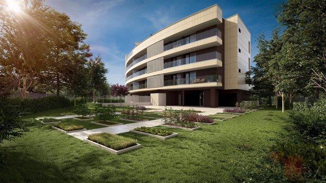 Archivo - Promoción de viviendas Natura Homes I en Urduliz