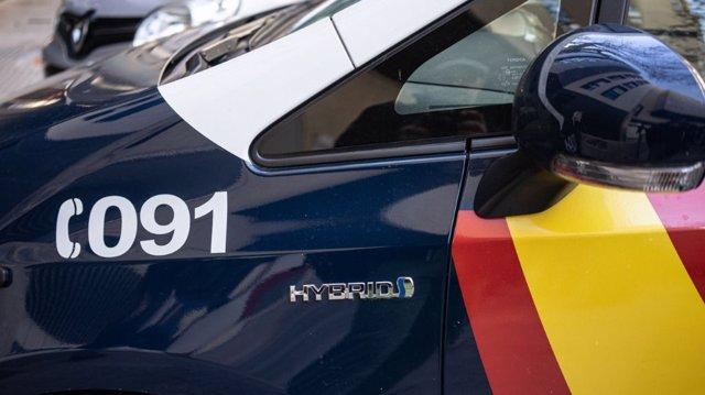 Archivo - Imagen de recurso de un coche de la Policía Nacional