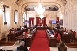 Archivo - Pleno del Ayuntamiento de Málaga en una imagen de archivo