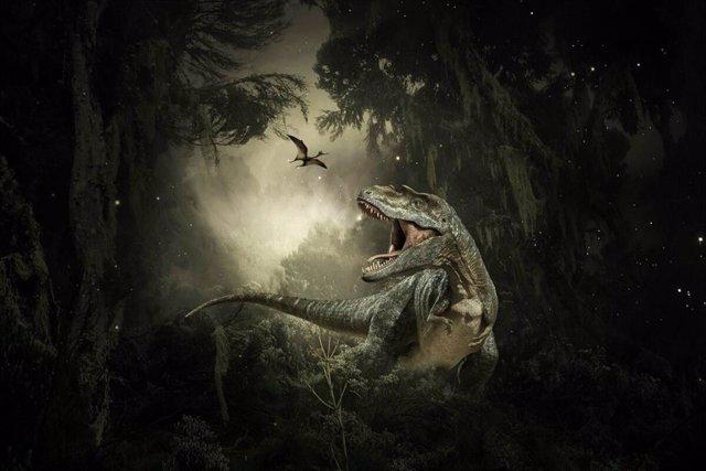 El impacto del asteroide provocó la extinción del 75% de la vida, incluidos todos los dinosaurios no aviares.