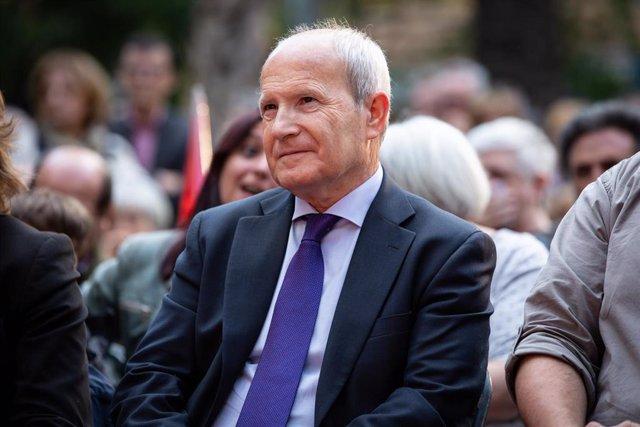Archivo - L'expresident de la Generalitat, José Montilla.