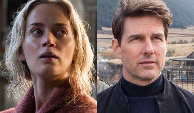 Misión Imposible 7 y Un lugar tranquilo 2 se podrán ver en Paramount+ 45 días después de su estreno en cines