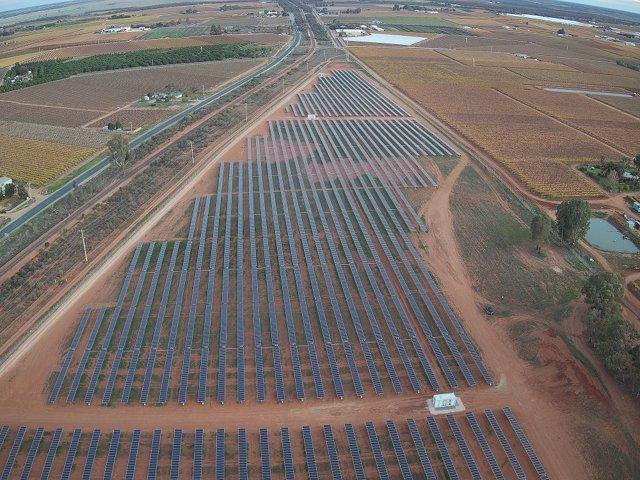 Planta fotovoltaica de PVH