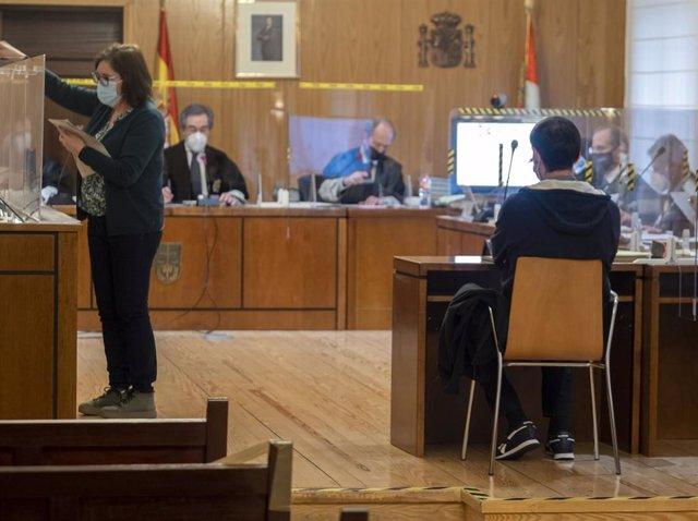 Uno de los momentos del juicio por la 'Operación Cebada' contra la antigua cúpula de Asaja Valladolid.