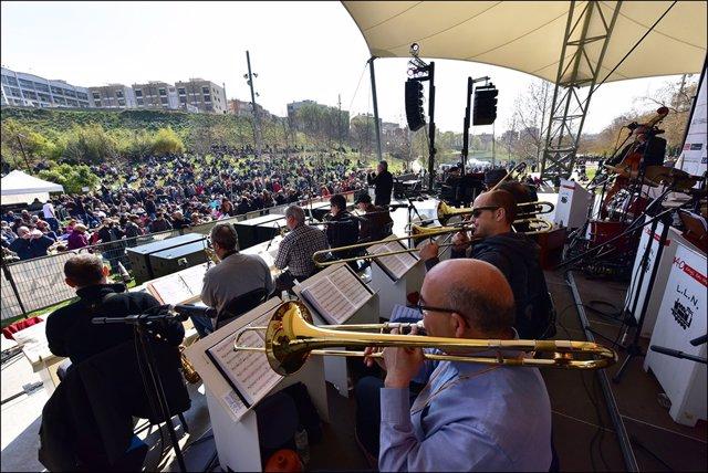 Archivo - Picnic-Jazz al parc Vallparadís de Terrassa (Arxiu)