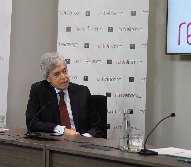 El presidente de Renta 4, Juan Carlos Ureta.
