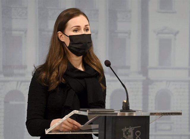 La primera ministra de Finlandia, Sanna Marin.