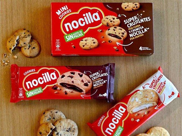 """""""Nocilla Cookies"""", El Nuevo Y Esperado Lanzamiento De La Marca Para Delicia De Los Incondicionales De Nocilla"""
