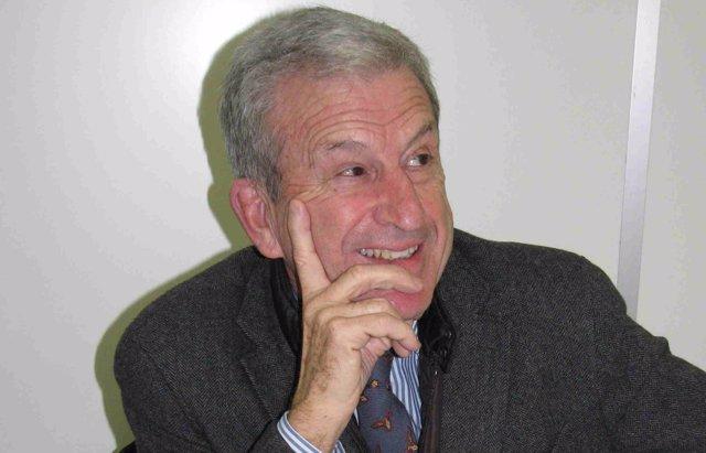 El presidente de Cáritas, Manuel Bretón,