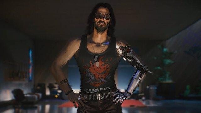 Archivo - Personaje interpretado por Keanu Reeves en Cyberpunk 2077.