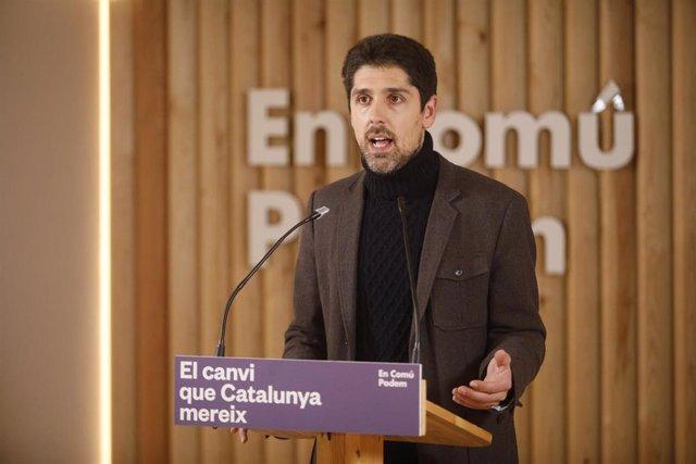 El número 5 por Barcelona de En Comú Podem, David Cid.