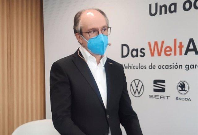 El responsable de Das WeltAuto en Volkswagen Group España Distribución, Antonio García.