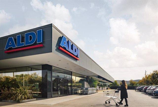 Archivo - Un establecimiento de Aldi en España