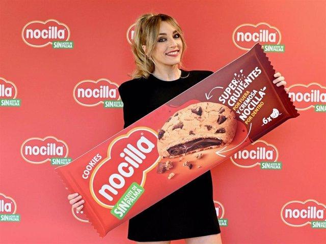 """Anna Simón se convierte en la embajadora del nuevo lanzamiento de Nocilla, """"Nocilla cookies"""""""