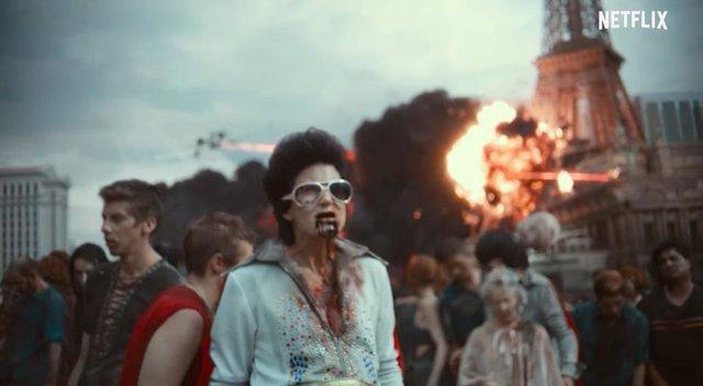 """Ejército de los muertos de Zack Snyder: """"Lo que pasa en Las Vegas se queda en Las Vegas"""""""