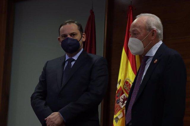 El ministro José Luis Ábalos en Alfaro (La Rioja)