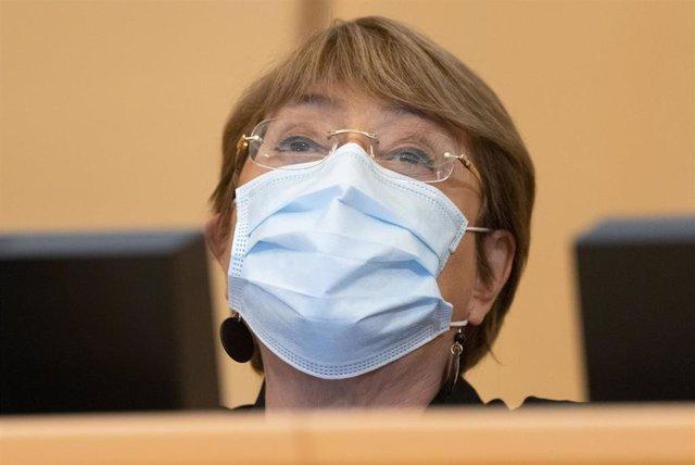 Archivo - La Alta Comisionada de Naciones Unidas para los Derechos Humanos, Michelle Bachelet