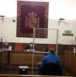 Imagen de archivo del juicio en la Audiencia de Granada contra el exalcalde de Castril José Juan López Ródenas