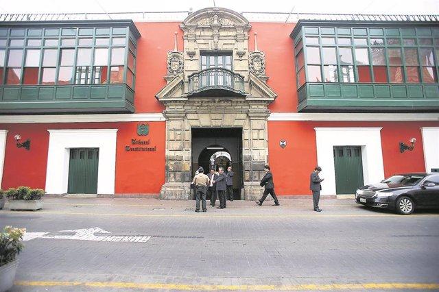 Archivo - Tribunal Constitucional de Lima.