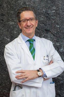 Archivo - El doctor Jesús San Miguel, director médico de la Clínica Universidad de Navarra y de Medicina Clínica y Traslacional de la Universidad de Navarra