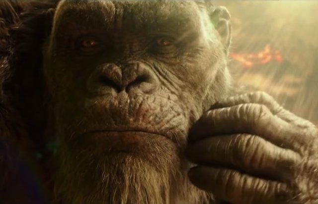 King Kong habla con los humanos en Godzilla vs. Kong