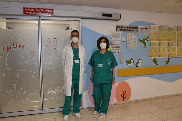 Profesionales del Hospital Universitario Reina Sofía de Córdoba diseñan una 'app' para medir el dolor en el niño.