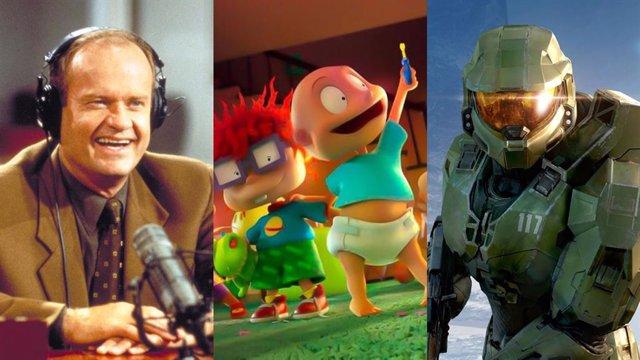 El regreso de Frasier, Rugrats y Mentes criminales y la serie de Halo, entre las principales apuestas de Paramount+