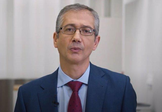 Archivo - El gobernador del Banco de España, Pablo Hernández de Cos