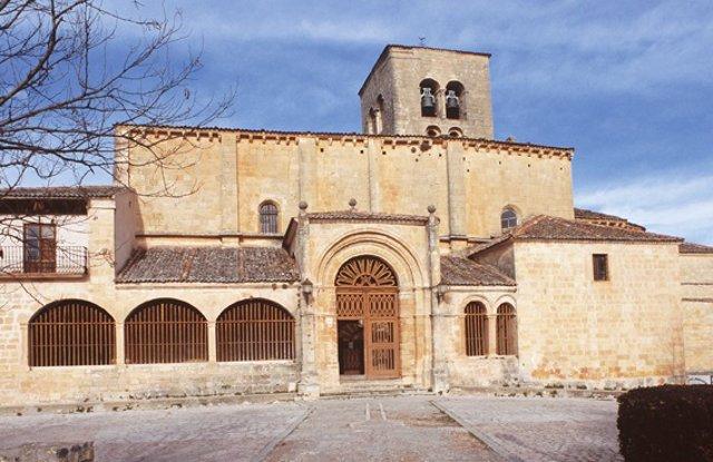 Iglesia de la Virgen de la Peña de Sepúlveda (Segovia).