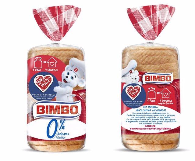 Archivo - Paquetes de pan Bimbo 0%