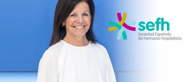 Olga Delgado, presidenta de la Sociedad Española de Farmacia Hospitalaria (SEFH)