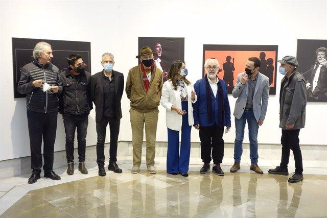 Inauguración de la exposición 'Morente, por Paco Manzano'