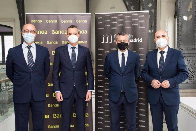 Bankia y Fundación Montemadrid firman un acuerdo de colaboración por el que destinarán un total de 1,3 millones a proyectos.