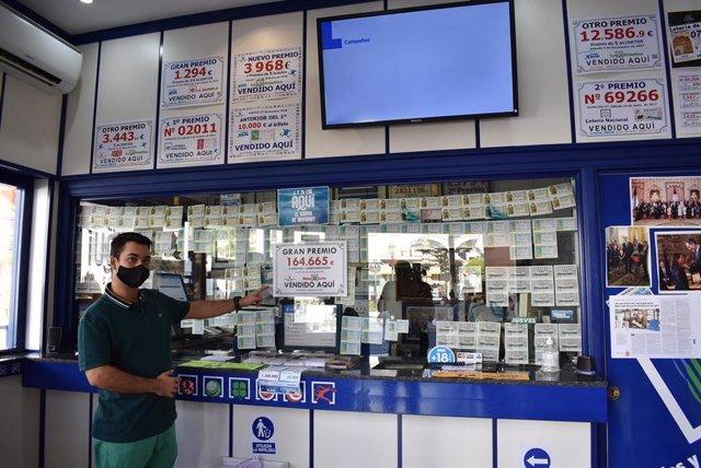 Archivo - Una administración de loterías