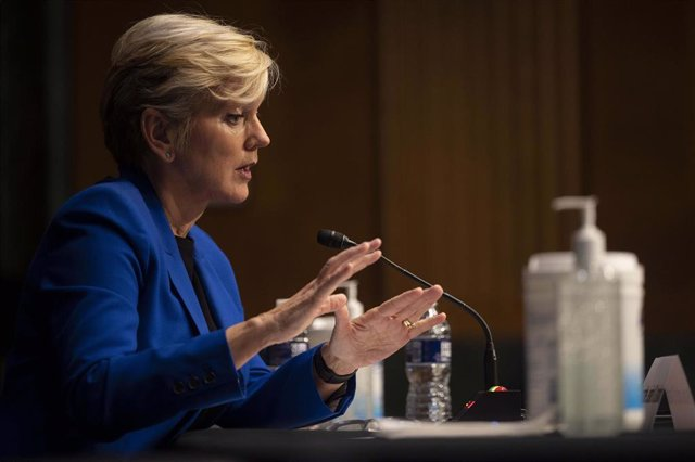 La secretaria de Energía de EEUU, Jennifer Granholm.