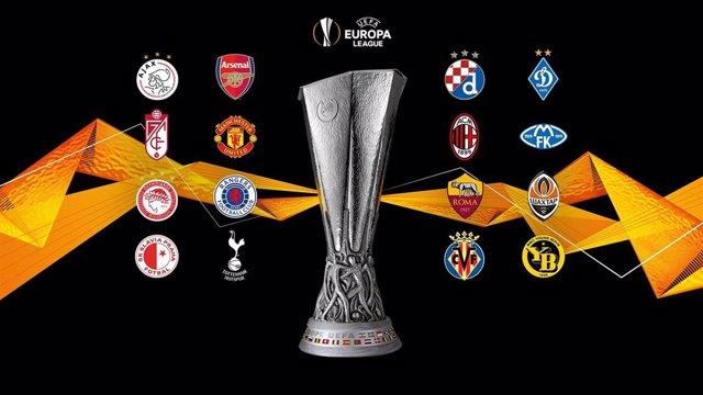 Equipos clasificados para los octavos de final de la Europa League 2020/21