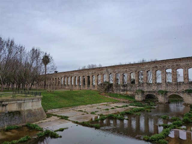 Cielo nuboso sobre Mérida.