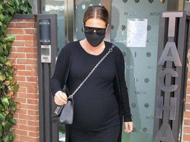 Paula Echevarría, radiante en la recta final del embarazo