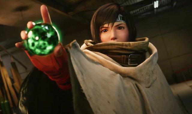 Yuffie en el nuevo episodio de Final Fantasy VII Remake Intergrade