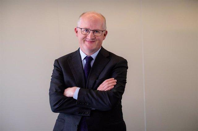 Archivo - Philip Lane, miembro del directorio del BCE