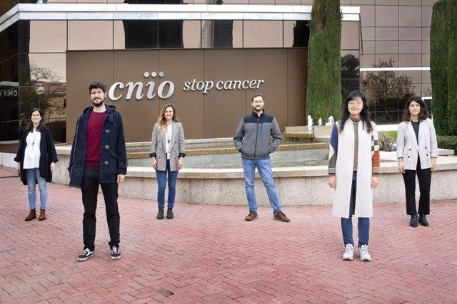 De izqda. A dcha., María José Andreu, Sergio Muñoz, Magdalena Leal, Giuseppe Bosso, Eunjeong Kim y Sofía Cabezudo.