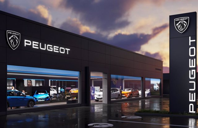 Nuevo logo de Peugeot.