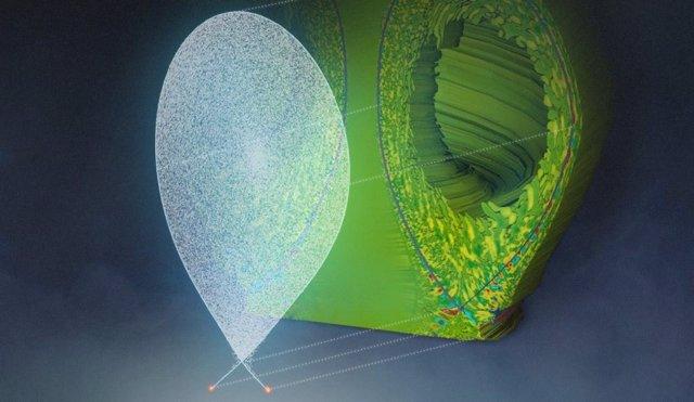 Simulaciones de condiciones de operación en el reactor ITER