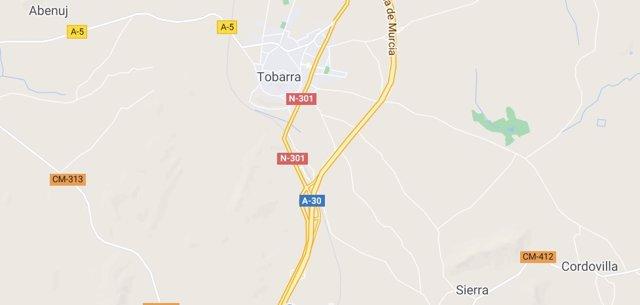 Imagen de Tobarra en Google Maps