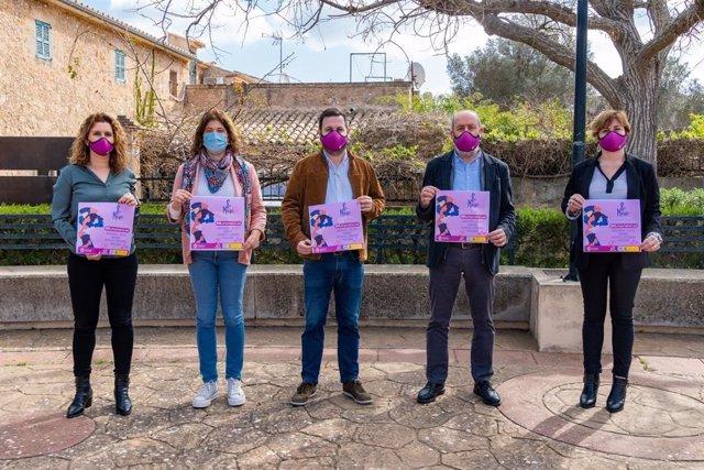 El Ayuntamiento de Marratxí presenta el programa de actividades para conmemorar el 8M.